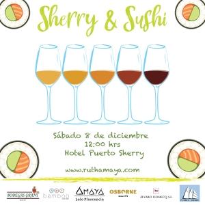 Sherry&sushi (1)